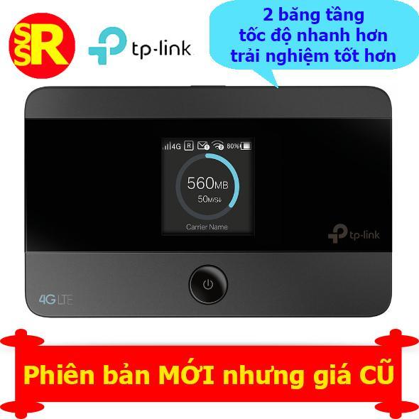 Cục phát WIFI di động tốc độ 4G 2 băng tần TP-Link M7350 màu Đen