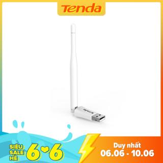 Tenda USB kết nối Wifi W311MA tốc độ 150Mbps - Hãng phân phối chính thức - Giới hạn 2 sản phẩm/khách hàng