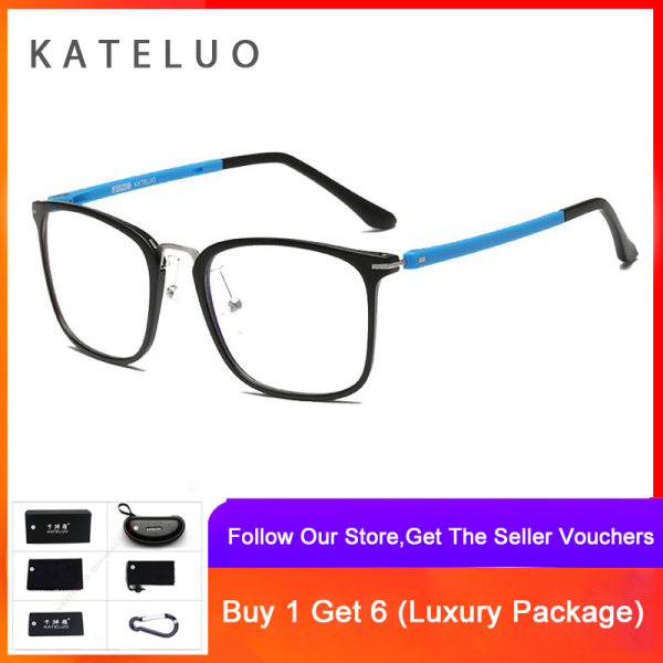 Mua KATELUO Computer Anti Blue Laser Ray Fatigue Radiation-resistant TR-90 Glasses Eyeglasses Frame Eyewear 9928
