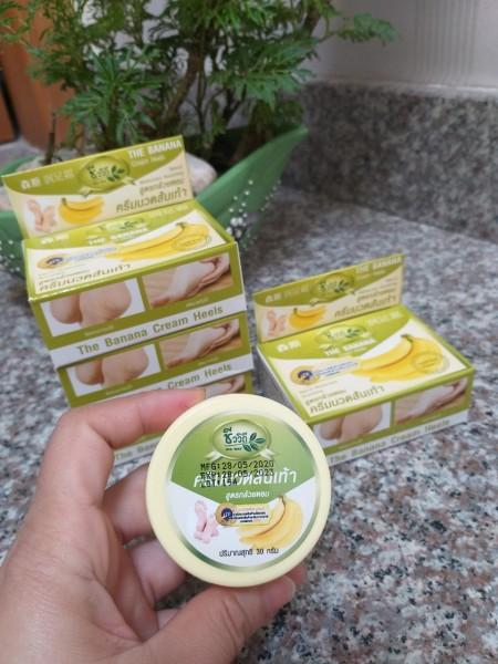 Kem Bôi Nứt Gót Chân Chuối Banana Heel Cream Thái Lan 50g