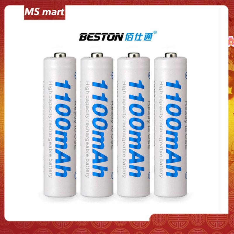 Bộ 4 Pin sạc AAA 1100mAh - Bền Bỉ, An Toàn và Thân thiện với môi trường