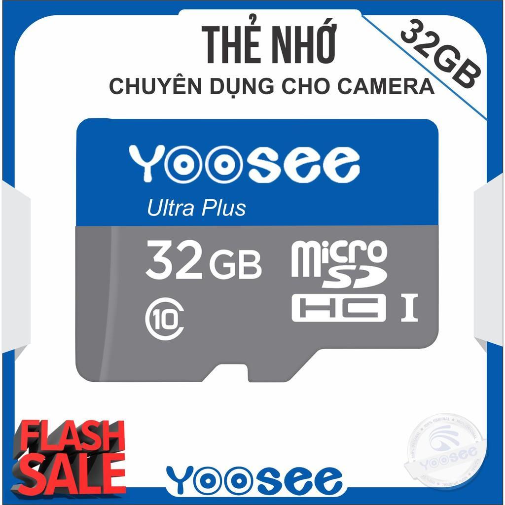 Thẻ Nhớ Micro Yoosee Extreme Plus 32GB R90MB/s W40MB/s (Trắng Xanh) Đang Có Khuyến Mãi