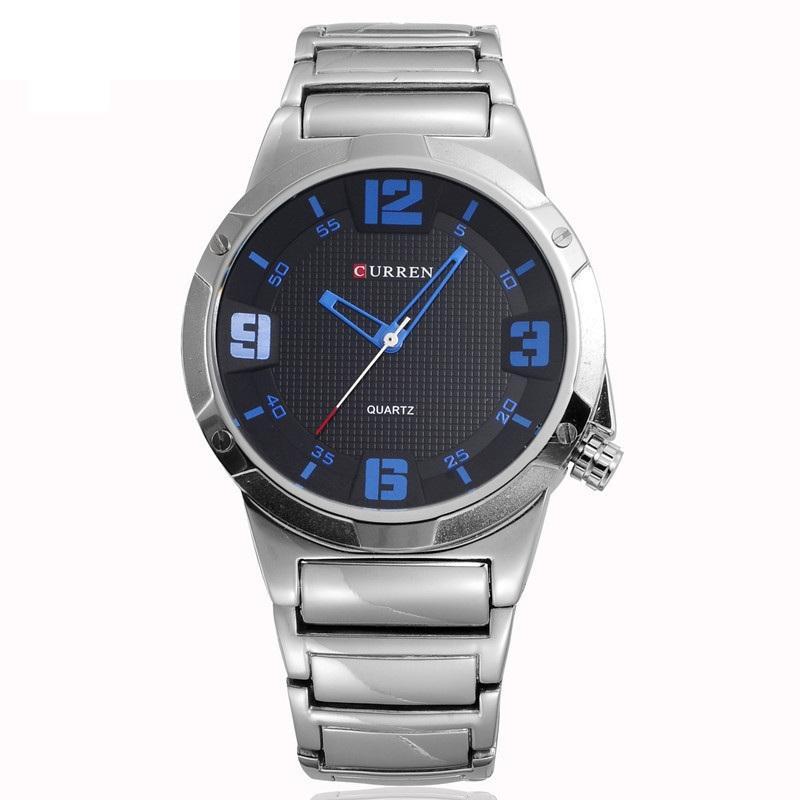 Nơi bán Đồng hồ nam doanh nhân dây thép không gỉ Curren 8111 thời trang cao cấp(Có bảo hành)