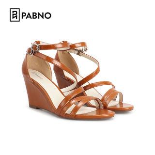 Giày cao gót đế xuồng 8P dây quai chéo mảnh nữ tính thương hiệu PABNO PN422