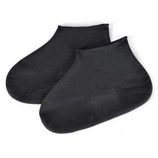 1 Đôi Giày Đi Mưa Cao Su Chống Thấm Nước Tái Sử Dụng, Vỏ Bọc Giày Bốt Đi Mưa Cao Su Chống Trượt Giày S/M/L Phụ Kiện