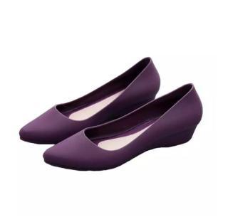 Giày đế xuồng phối ren nữ cao cấp Kem, Đen 9 phân full size full box có ảnh thật Size 35 đến 40 V68 + V115 thumbnail