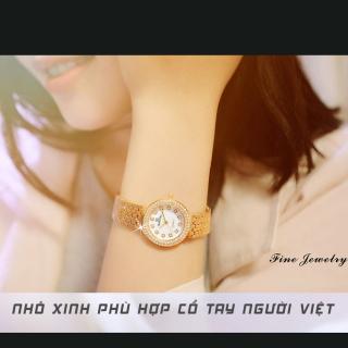 Đồng hồ nữ BS BEE SISTER ROXIE Mặt Xà Cừ Sang Trọng - Tặng Kèm Pin ĐH Dự Phòng - Đồng hồ nữ thời trang, Đồng hồ nữ thể thao, Đồng hồ nữ cao cấp, Đẹp,Sang trọng,Đẳng cấp, Bền, Giá Sốc, Đồng hồ nữ hàn quốc, Đồng hồ 3