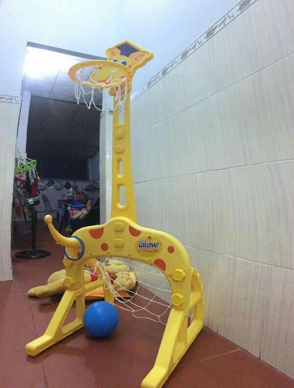 Bộ bóng rổ 4 trong 1 Nhật Bản