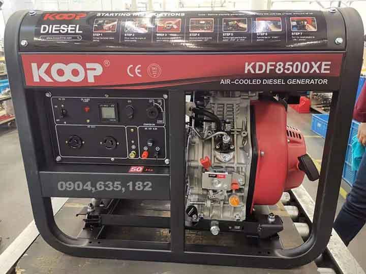 Máy Phát Điện Dầu 6.0KW Koop KDF8500XE