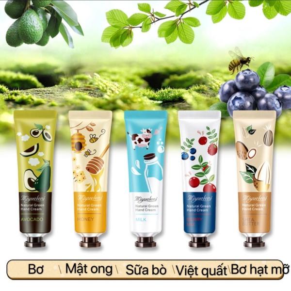 Kem dưỡng da tay, chiết xuất từ các loại thực vật thơm trái cây và hoa quả tự nhiên, có 10 mùi hương cho bạn lựa chọn