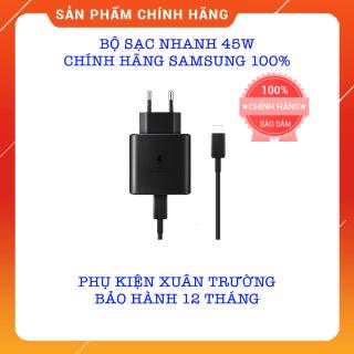 Bộ Sạc Nhanh 45w Chính Hãng SamSung 100% - Bảo Hành 12 Tháng thumbnail