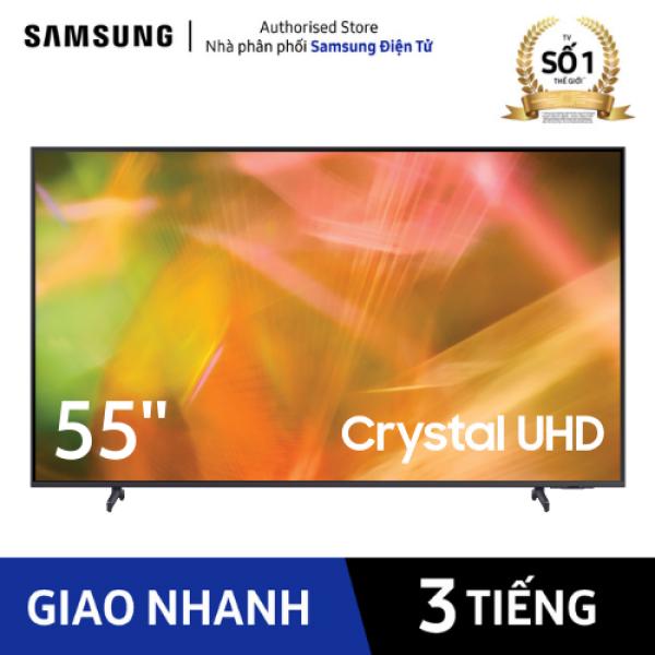 Bảng giá [Trả góp 0%]  UA55AU8000 - Smart Tivi Samsung Crystal UHD 4K 55 inch AU8000 2021