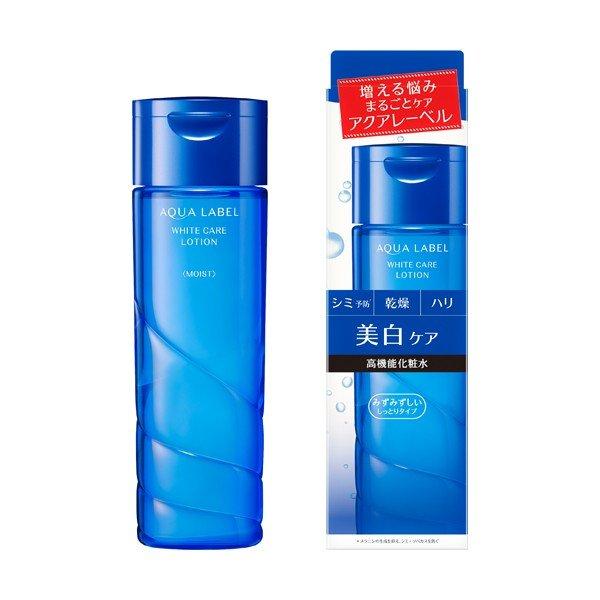 Nước hoa hồng trắng da Shiseido Aqualabel White Up Lotion 200ml - Nhật Bản