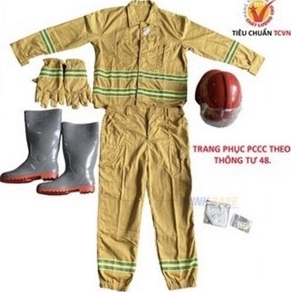 Bộ quần áo bảo hộ 💥Phòng cháy 💥 chất lượng, hàng chuẩn có kiểm định của BCA