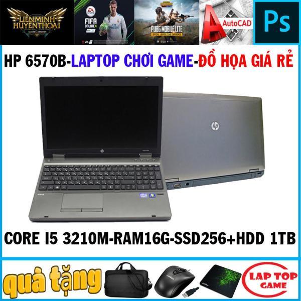 Bảng giá Laptop chơi game + đồ họa  HP 6570B Core i5 3210M, Ram 16G, SSD 256g+HDD 1tb ,Màn 15.6, Phím Số, Vỏ Nhôm Phong Vũ