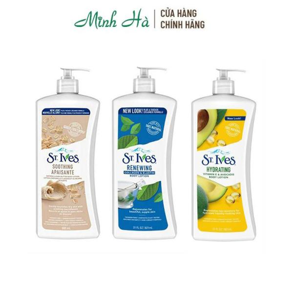Sữa dưỡng thể St.Ives Body Lotion 621ml
