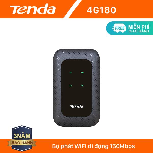 Tenda Bộ phát Wifi di động 4G LTE 4G180  - Hãng phân phối chính thức