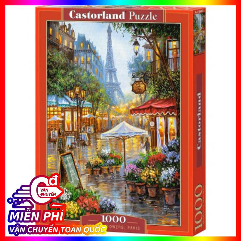 Mã Khuyến Mãi Khi Mua Xếp Hình Spring Flowers, Paris 1000 Mảnh CASTORLAND