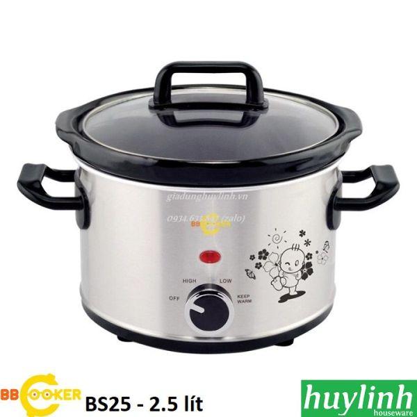 Nồi nấu cháo chậm Hàn Quốc BBcooker BS25 - 2.5 lít