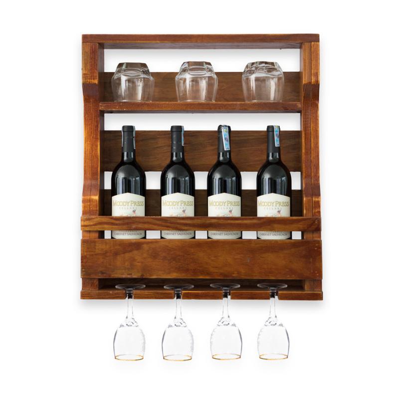Kệ Rượu Treo Tường KR 20