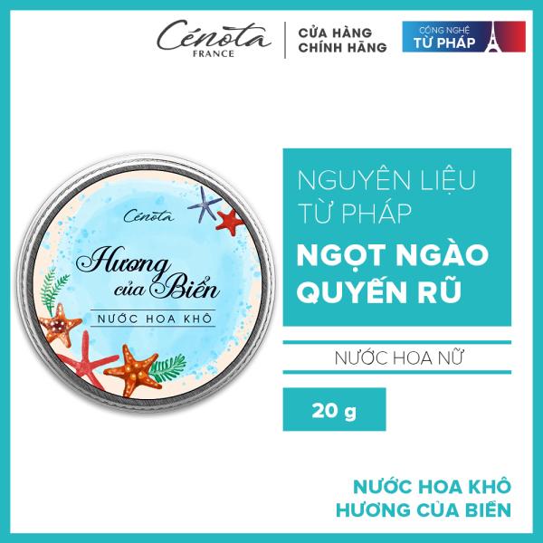 Nước hoa khô Cenota hương của biển 20g