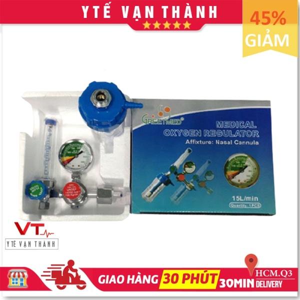 ✅ Đồng Hồ Oxy: Greetmed / PA Medical - [Y Tế Vạn Thành] - Mã SP: VT0339