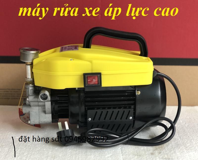 Máy rửa xe áp lực cao.loai 1