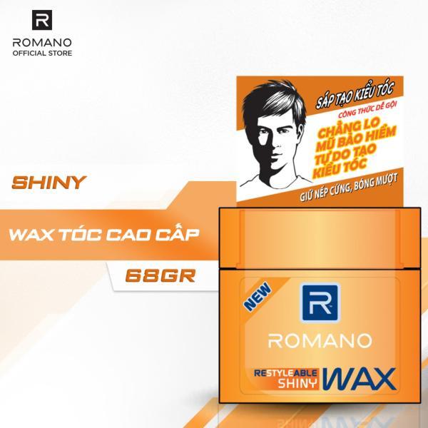 Sáp tạo kiểu tóc Romano Restyleable Shiny 68g nhập khẩu