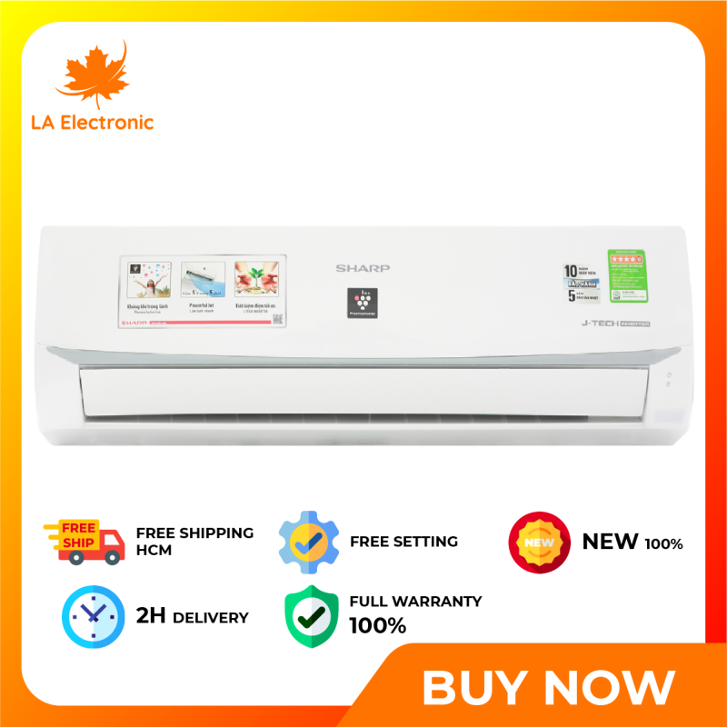Bảng giá Máy Lạnh - Sharp Inverter Air Conditioner 1 HP AH-XP10WMW