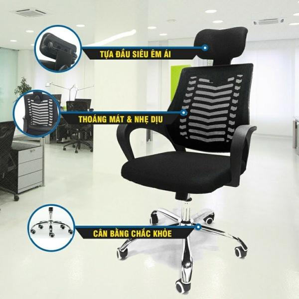 Ghế văn phòng cao cấp PL5003 Nhập khẩu giá rẻ