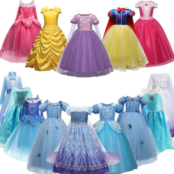 Giá bán NNJXD Quần áo trẻ em cho bé gái 3-10 tuổi Halloween Elsa Anna Váy bé gái Trang phục Bữa tiệc lạ mắt Cosplay cho Bữa tiệc Giáng sinh