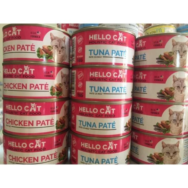 [HCM]Pate cho mèo hello cat 190gr - gà cam kết hàng đúng mô tả chất lượng đảm bảo an toàn đến sức khỏe người sử dụng đa dạng mẫu mã màu sắc kích cỡ