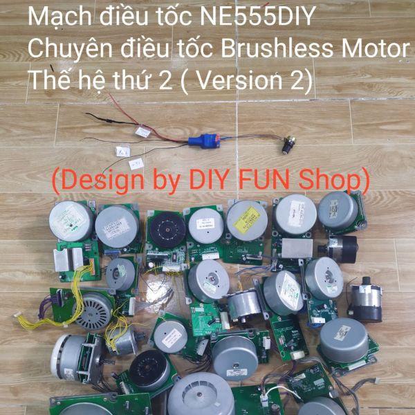 [HCM]Điều tốc Brushless Motor 12v ~ 24v Version 2