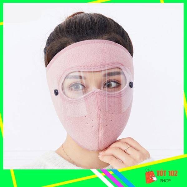Giá bán Khẩu Trang Ninja Nin Ja Nam Nữ Vải Nỉ Che Kín Mặt Chống Nắng Chống Bụi Có Kính HNX23 - Khau Trang Ninja Nin Ja Nam Nu Vai Ni Che Kin Mat Chong Bui Chong Nang Chong Ret Co Kinh - ShopTot102