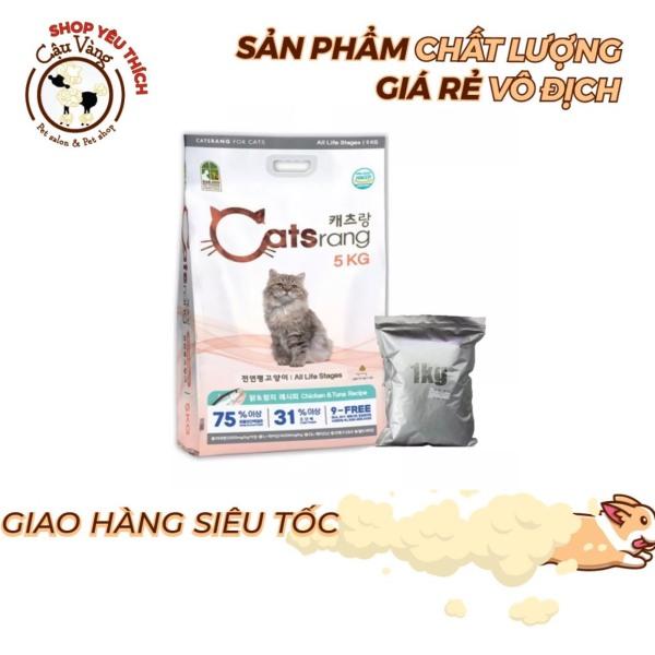 Thức ăn hạt cho mèo CATSRANG Hàn Quốc - Túi 1kg hạt Catsrang