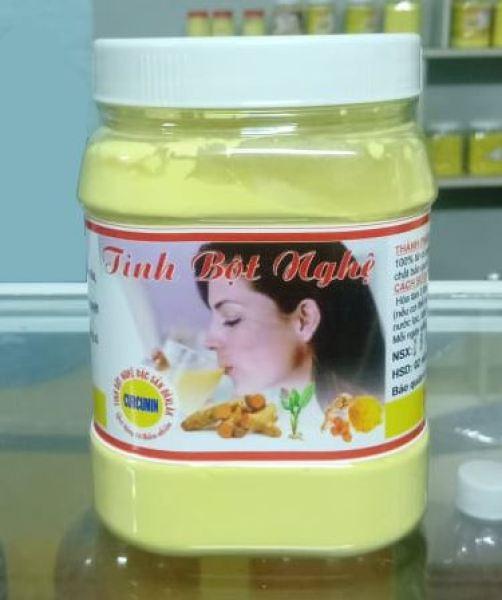 500g Tinh bột nghệ nguyên chất ĐăkLăk hỗ trợ giảm đau dạ dày, hỗ trợ tiêu hóa, mịn da, tăng cường sức đề kháng cơ thể