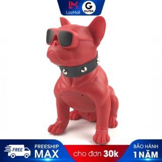 Loa Bluetooth Gutek CH-M10 Hình Con Chó Bull, Vỏ Chống Thấm Nước Chống Va Đập, Nghe Nhạc Bass Cực Chất, Hàng Chính Hãng thumbnail