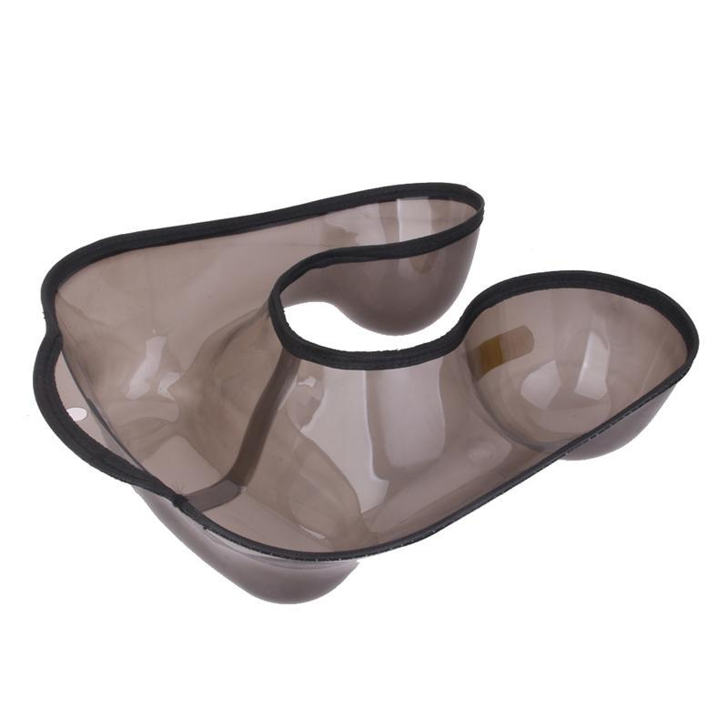 Salon Hairdressing Neck Tray Perm Container Neck Shaped Shoulder Hair Tray Clothing Protector cao cấp