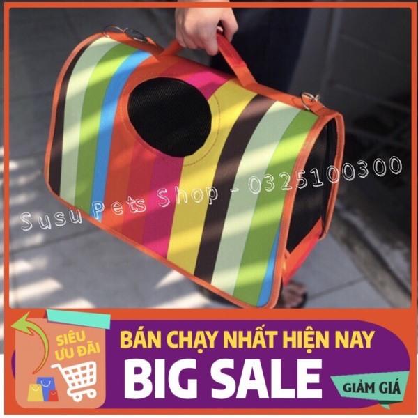 Túi vận chuyển chó mèo Size L