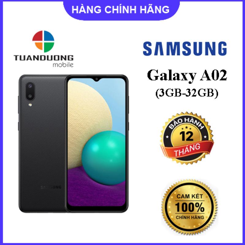 Điện thoại Samsung Galaxy A02 (3GB/32GB) Hàng Chính Hãng