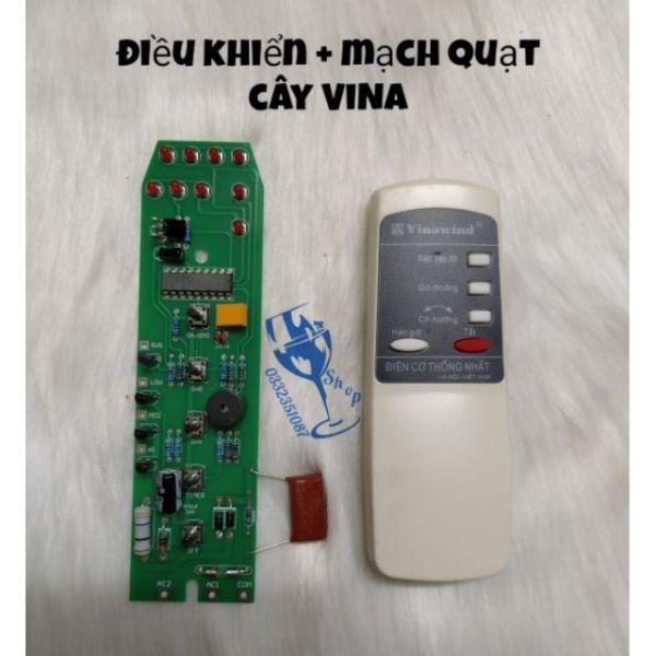 Bộ điều khiển + bo mạch quạt cây Vinawind hàng đẹp. Bảo hành 1 tháng
