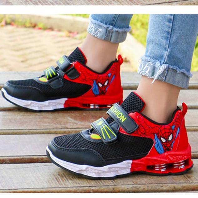 Giày thể thao cho bé, giày cho bé trai,giày sneaker , giày thời trang 21191 One size-đỏ đen-36 GIA TOT giá rẻ