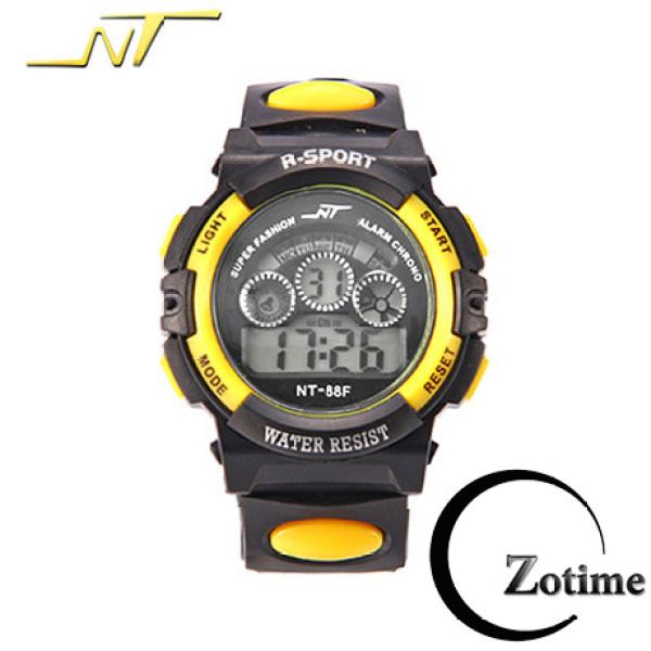Đồng hồ điện tử thể thao nam nữ đẹp viền màu thời trang ZO12