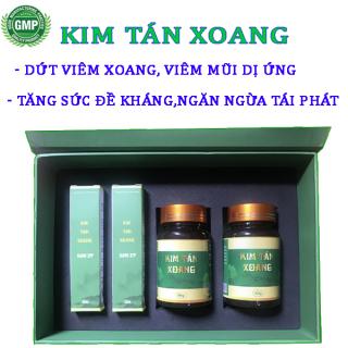 [2UỐNG+2 XỊT] Dứt viêm xoang, viêm mũi dị ứng- Kim Tán Xoang, 100% thảo dược tự nhiên, không tác dụng phụ. Hàng Chính Hãng, dp tg pharma thumbnail