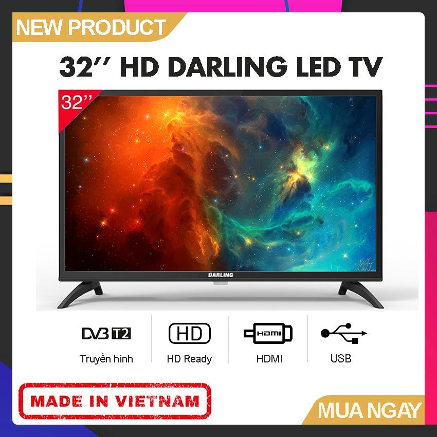 Bảng giá Tivi Led Darling 32 inch HD - Model 32HD962S2 (HD Ready, Tích hợp DVB-T2) - Bảo Hành 2 Năm
