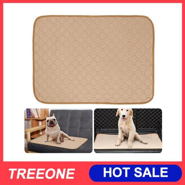 Treeone Dog Pee Pads, Thấm Nước Pet Pee Pad Tái Sử Dụng Thảm Huấn Luyện Chó Con Cho Whelping, Không Tự Chủ, Du Lịch, Làm Ướt Giường, Bảo Vệ Nệm