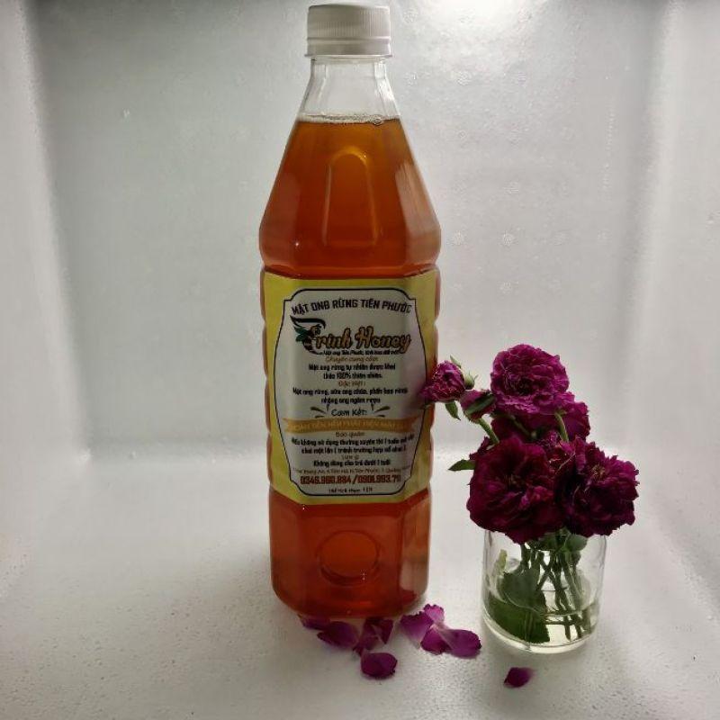 Mật ong hoa nhãn 1 lit giá rẻ