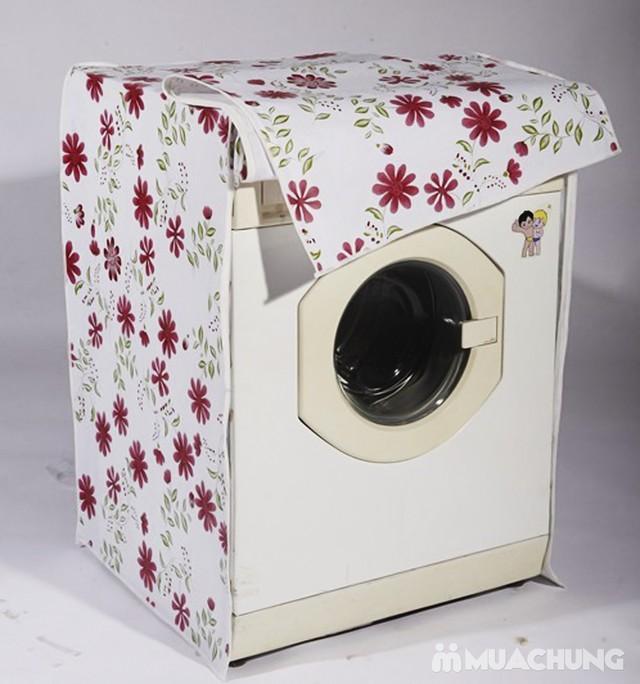 Bảng giá [Dùng Cho Máy Giặt Của Ngang] Bọc Máy Giặt Chông Thấm Nước 2 Lớp - Trùm Máy Giặt Chống Thấm Nước 2 Lớp Loại Dày Điện máy Pico