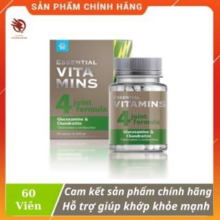 [HCM][ CHÍNH HÃNG ] - Thực Phẩm siberian Essential Vitamins Glucosamine & Chondroitin hỗ trợ tăng dịch nhờn giúp khớp khỏe mạnh - Hộp 60 viên thumbnail