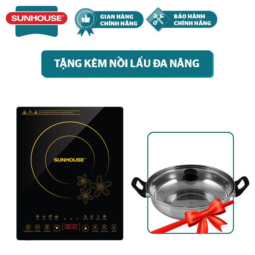 Mã Khuyến Mại Bếp Từ Cảm Ứng SUNHOUSE SHD6800 Tặng Kèm Nồi Lẩu - Bảo Hành Chính Hãng 12 Tháng